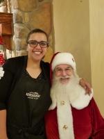 Santa at Kneaders Bakery 2018