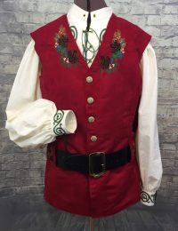Embroidered Tunic for Santa