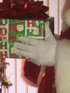 Gloves for Santa and Mrs Claus