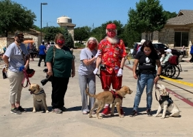 Santa Wade - Operation Battle Buddies - Puppy Parade