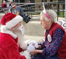 Miss Ozelle turns 102 Yr at Senior Center