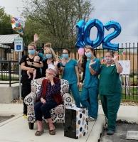 102 Yr Birthday Party - Senior Center