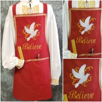 Aprons for Santa - Believe