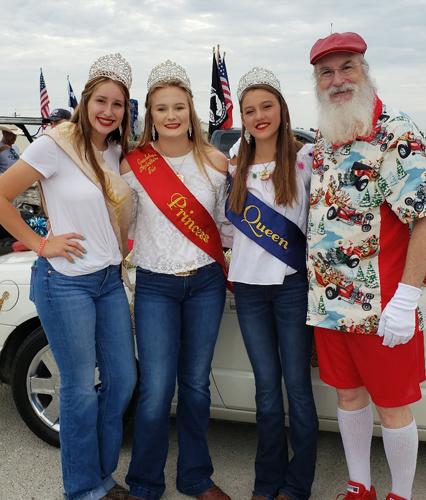 Summer Santa Wade available for Parades